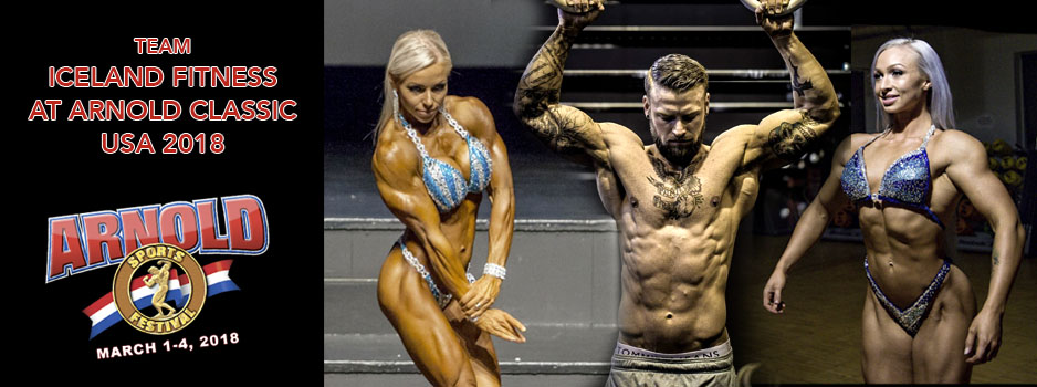 Team Iceland Fitness at Arnold Classic USA 2018