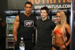 Kris J at the Body and Fitness expo in Paris 2013